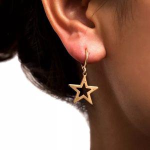Gold Star Mini Hoop Earrings • NWT ✨